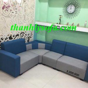 Mẫu thanh lý sofa bằng chất liệu nỉ tại Hoàn Kiếm