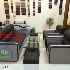 Thanh lý bộ sofa da kiểu Nhật giá rẻ mới 100% tại Long Biên