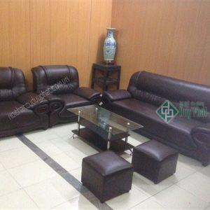 Mẫu thanh lý sofa bằng chất liệu da tại Hoàn Kiếm