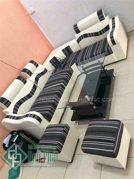 Nên chọn sofa da hay sofa nỉ cho phòng khách