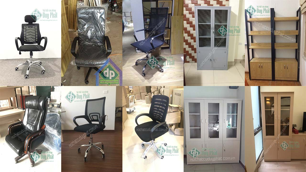Một số sản phẩm nội thất văn phòng Hà Nội dẹp tại Duy Phát