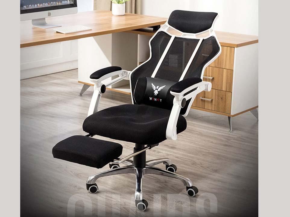 Mẫu ghế ngả văn phòng lớn phù hợp cho bàn làm việc đơn