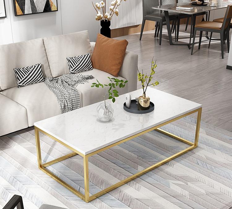 Mẫu bàn sofa chân sắt điệu đàng