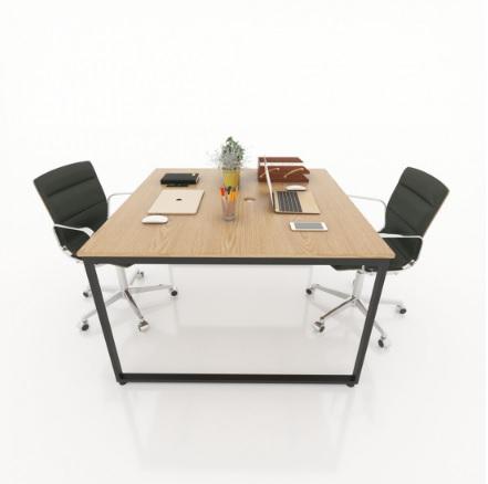 Mẫu bàn ghế văn phòng hiện đại có thiết kế nhỏ gọn